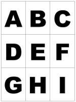 Abc Karten Zum Ausdrucken Und Ausschneiden Alphabet Lernen